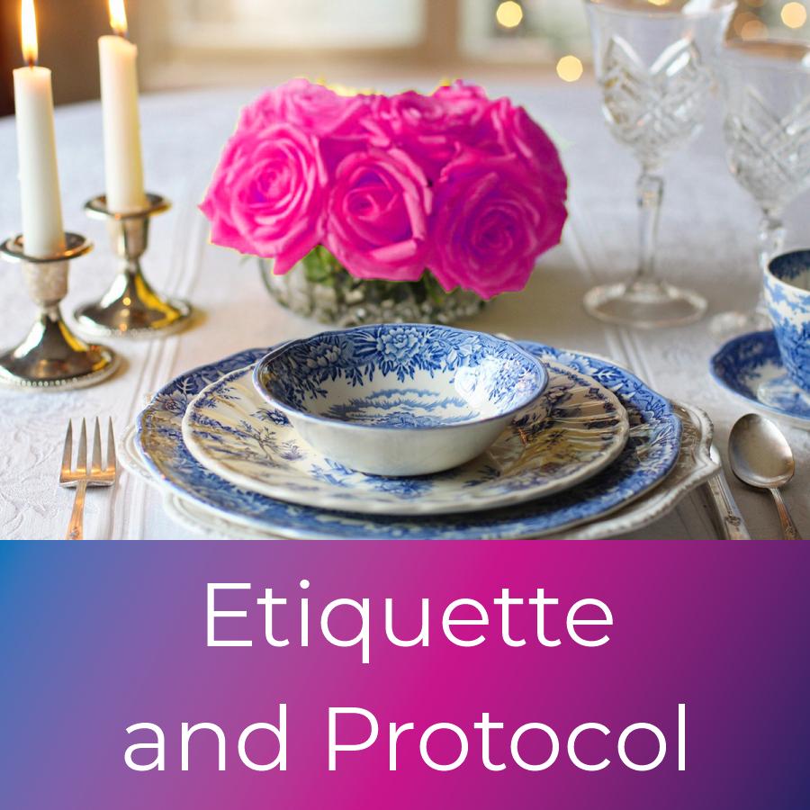 icon etiquette and protocol
